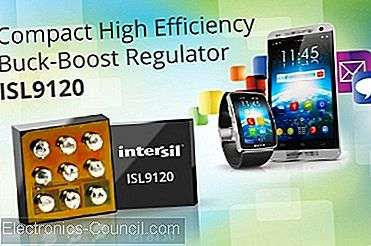 Intersil's New Buck-Boost Regulator Reinvents Effektivitet